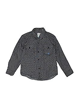 Roper Long Sleeve Button-Down Shirt Size 6 - 7