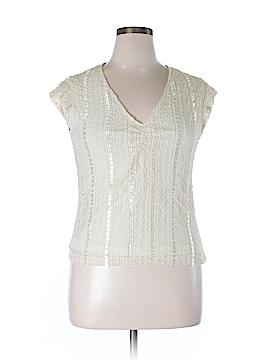 Nine West Short Sleeve Blouse Size XL