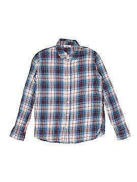Dex Long Sleeve Button-Down Shirt Size M (Kids)