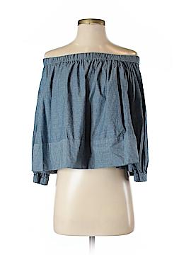 Cynthia Rowley 3/4 Sleeve Blouse Size S