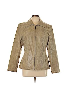 Jacqueline Ferrar Leather Jacket Size M