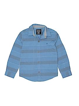 CALVIN KLEIN JEANS Long Sleeve Button-Down Shirt Size 7X