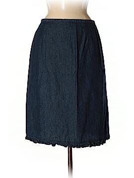 Faded Glory Denim Skirt Size M