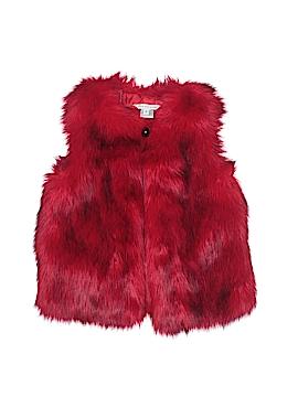 Little Marc Jacobs Faux Fur Vest Size 6