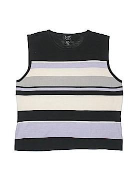 City Silk Silk Pullover Sweater Size XL