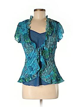 Clothing Co. Short Sleeve Blouse Size M