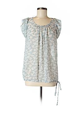 Black Rainn Short Sleeve Blouse Size M