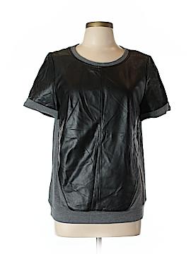 Halogen Leather Top Size L