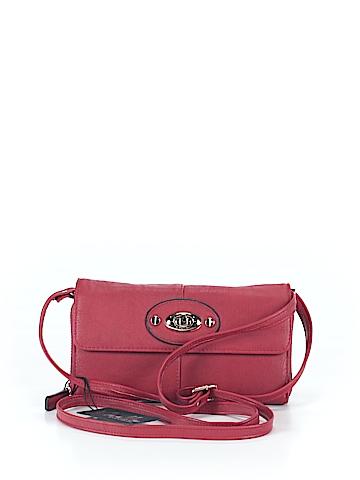 Noelle Leather Crossbody Bag One Size