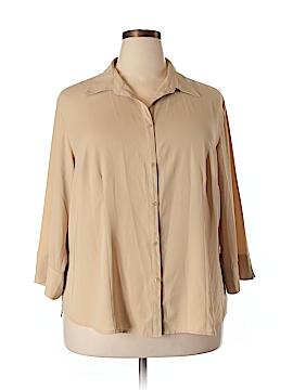 Covington Outlet 3/4 Sleeve Blouse Size 22 (Plus)