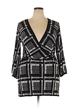 Ashley Stewart 3/4 Sleeve Blouse Size 12