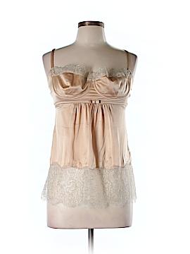 Dolce & Gabbana Sleeveless Silk Top Size 46 (IT)