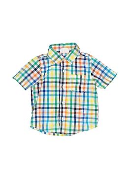 Crazy 8 Short Sleeve Button-Down Shirt Size 12-18 mo