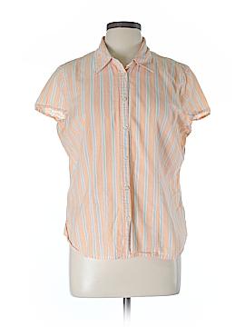 IZOD Short Sleeve Button-Down Shirt Size XL