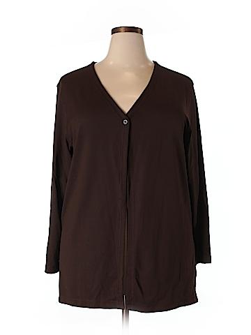 Danskin Cardigan Size 1X (Plus)