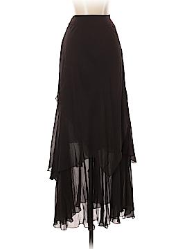 Carmen Marc Valvo Silk Skirt Size 2