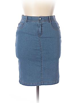 Charter Club Denim Skirt Size 10