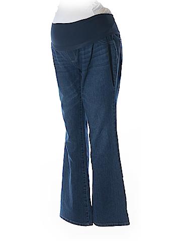 Indigo Blue Jeggings Size L (Maternity)