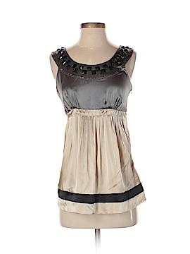 Kensie Sleeveless Silk Top Size 4