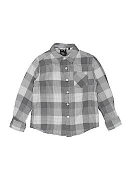 Shaun White Long Sleeve Button-Down Shirt Size X-Small (Youth)