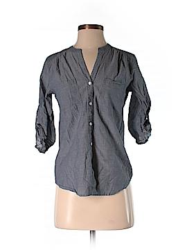 Ann Taylor Factory 3/4 Sleeve Button-Down Shirt Size XS