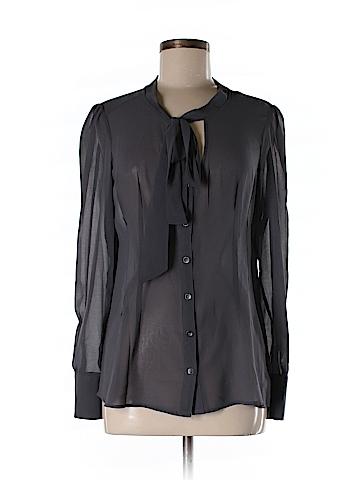 Patterson J. Kincaid Long Sleeve Blouse Size M