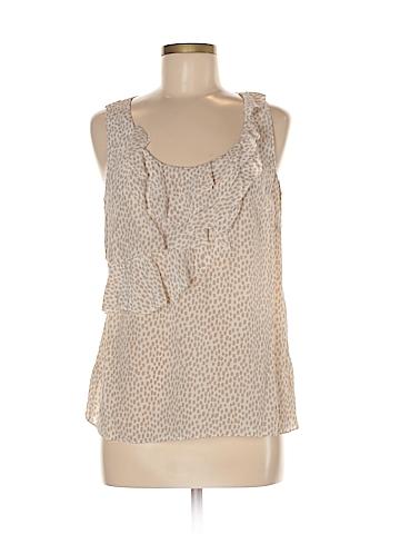 Halogen Sleeveless Silk Top Size M