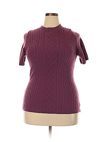 Maggie Barnes Pullover Sweater Size 1X (Plus)
