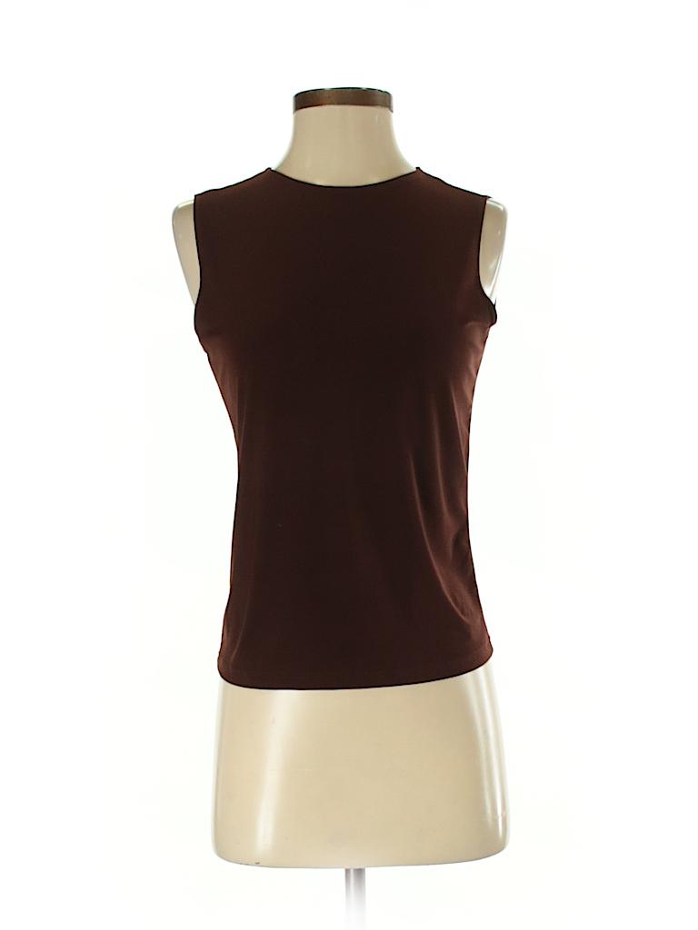 Susan Lawrence Women Sleeveless Top Size S