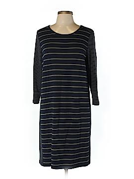 Fleur Wood Casual Dress Size L