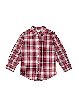Gymboree Long Sleeve Button-Down Shirt Size 3 - 4