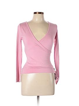 BCBGMAXAZRIA Silk Pullover Sweater Size M