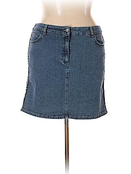 Burberry Denim Skirt Size 14