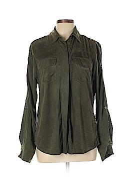 Sam Edelman Long Sleeve Button-Down Shirt Size L