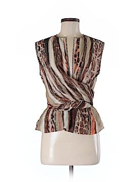 Salvatore Ferragamo Sleeveless Silk Top Size 40 (EU)
