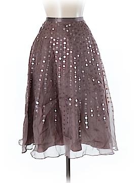 Monsoon Silk Skirt Size 6