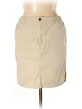 Liz Claiborne Casual Skirt Size 16 (Petite)