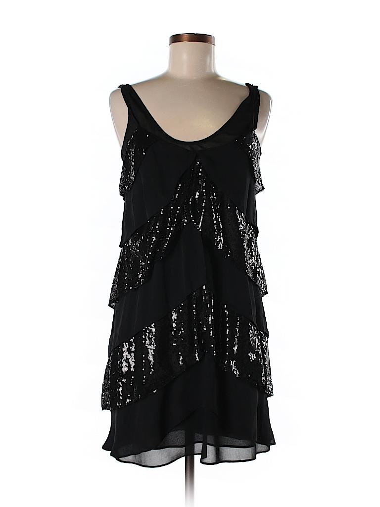 Armani Exchange Solid Black Cocktail Dress Size 6 - 66% off | thredUP