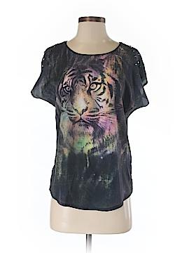 Rock & Republic Short Sleeve Blouse Size S