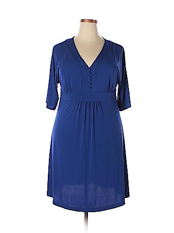 Fashion Bug Casual Dress Size 0X (Plus)