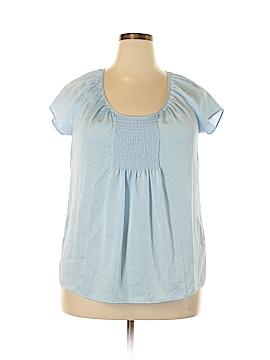 Talbots Short Sleeve Blouse Size 1X (Plus)