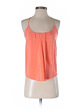 Amanda Uprichard Sleeveless Silk Top Size S (Petite)