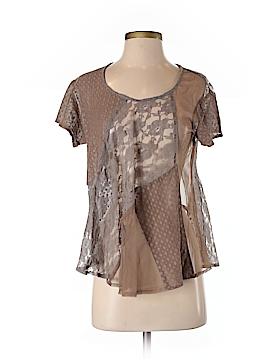 Chan Luu Short Sleeve Blouse Size XS