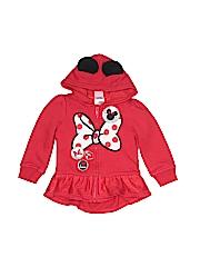 Disney Girls Zip Up Hoodie Size 3T