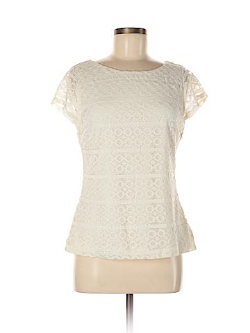 Banana Republic Factory Store Short Sleeve Blouse Size 8 (Petite)