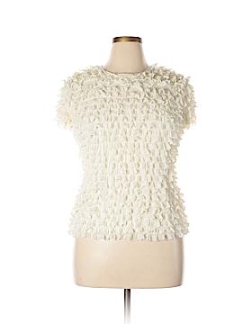 Sara Campbell Short Sleeve Blouse Size L