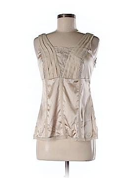 White House Black Market Sleeveless Silk Top Size 6 (Petite)