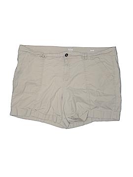 A.n.a. A New Approach Khaki Shorts Size 24W (Plus)