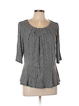Liz Claiborne 3/4 Sleeve Top Size L (Tall)