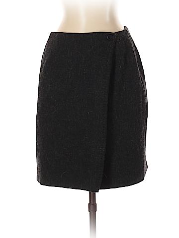 B. Moss Wool Skirt Size 4
